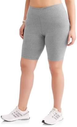 Danskin Women's Plus Active Bike Shorts