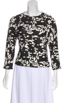 Chloé Printed Long Sleeve Sweatshirt