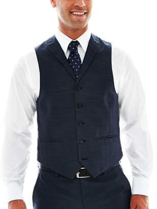 Steve Harvey 5-Button Sharkskin Vest