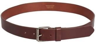 Dries Van Noten Brown Leather Belt