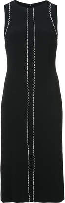 Carolina Herrera Sleeveless fitted dress