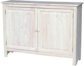 International Concepts 3-Shelf Entryway Storage Cabinet