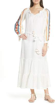 0c50e87955 Tory Burch Embroidered Cover-Up Maxi Dress