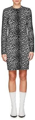 Givenchy Women's Leopard-Pattern Jacquard-Knit Minidress