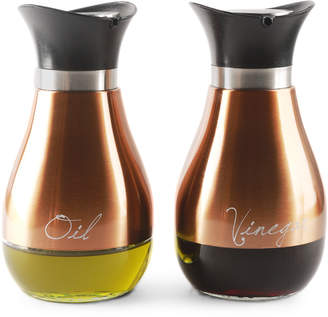 Circleware Two-Piece Contempo Oil & Vinegar Jar Set