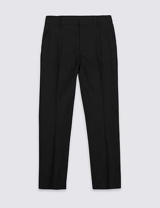 Marks and Spencer Senior Boys' Plus Fit Skinny Leg Trousers