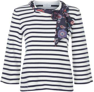 Claudie Pierlot Striped Sweater