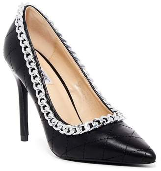 Cape Robbin Cruise Quilted Chain Pump