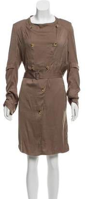Helmut Lang Knee-Length Shirt Dress