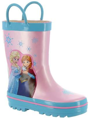 "Disney Frozen Girls' ""Snowflake Sister"" Rain Boots"