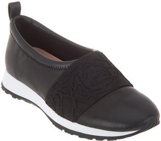 Taryn Rose Leather Slip-on Shoes - Charlotte