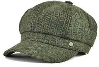 VOBOOM 8 Panel Wool Tweed Newsboy Gatsby Ivy Cap Golf Cabbie Driving Hat  Herringbone ba2f1ada7b6a
