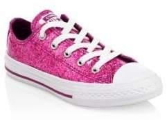 Converse Little Girl's Chuck Taylor All Star Glitter Sneakers