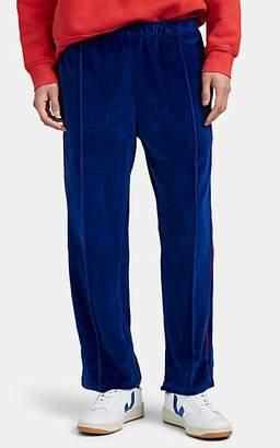 Les Tien Men's Cotton-Blend Velour Track Pants - Royal Blue