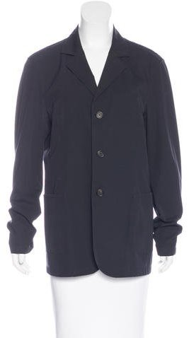 pradaPrada Woven Button-Up Blazer