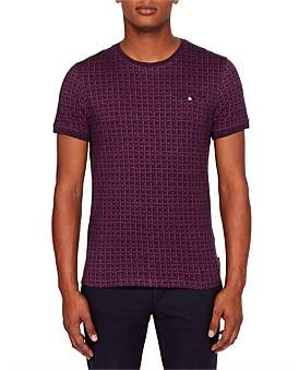 Ted Baker Short Sleeve All Over Print T-Shirt
