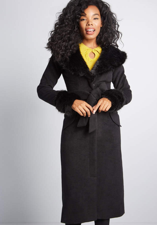 Collectif Clothing Quite the Sophisticate Coat