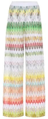 Missoni Striped knit wide-leg pants