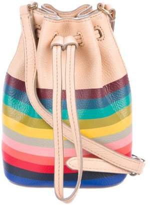 Tory Burch Grained Leather Bucket Bag