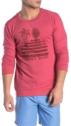 Trunks Surf and Swim CO. Marco Long Sleeve Crew Neck Pullover