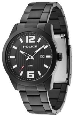 Police Men's PL-13406JSB/02M Trophy IP Stainless-Steel Bracelet Date Watch