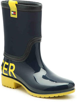 Tommy Hilfiger Desi Logomania Rain Boot - Women's