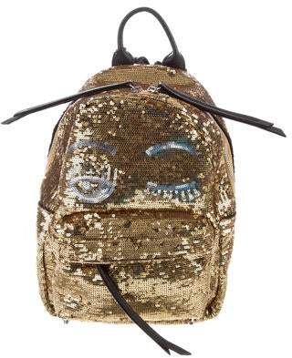 Chiara Ferragni Glitter Flirting Backpack w/ Tags