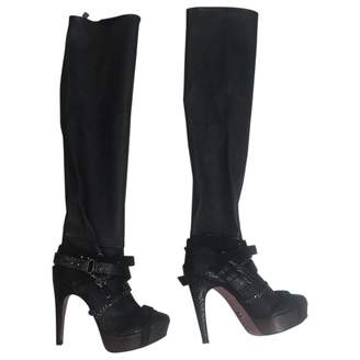 Herve Leger Leather boots