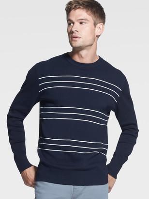 DKNY Triple-Stripe Sweater