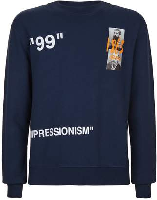 Off-White Off White Summer Impressionism Sweater