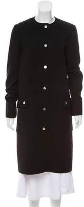 Salvatore Ferragamo Wool Knee-Length Coat w/ Tags