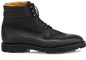John Lobb Men's Alder Lace-Up Leather Derby Boots