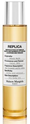 Maison Margiela Replica Beach Walk Perfumed Dry Body Oil $60 thestylecure.com