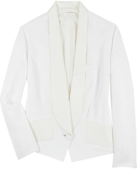 Chloé Tuxedo silk-blend blazer