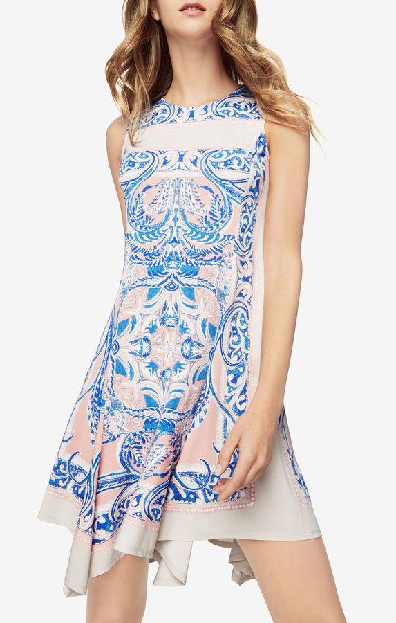 BCBGMAXAZRIAMercey Paisley-Print Dress