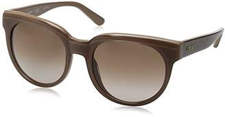 DKNY Women's Acetate Woman Round Sunglasses