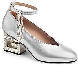 Gucci Women's Pump with Crystal Strap