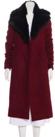 Rebecca Vallance Open-Front Long Coat