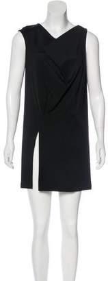 Balenciaga Draped Mini Dress