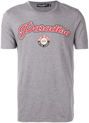 Dolce & Gabbana Paradiso print T-shirt