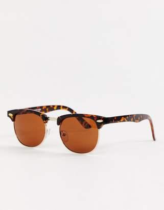 2df55e7983d Asos Design DESIGN classic retro sunglasses