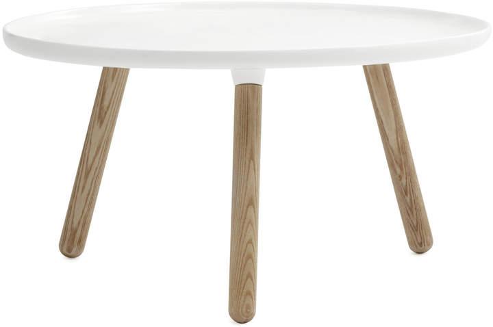Normann Copenhagen - Tablo Ø 78 cm, Weiß / natur