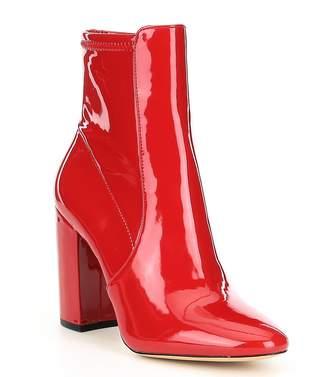 acf6a0c8c7e Aldo ALDO Aurella Patent Block Heel Booties