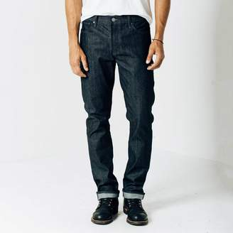 DSTLD Slim 12.75oz Raw Denim Jeans in 24-dip Indigo - Grey