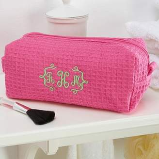 Embroidered Pink Makeup Bag $22.99 thestylecure.com