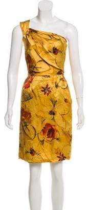 Alberta Ferretti Silk Knee-Length Dress w/ Tags