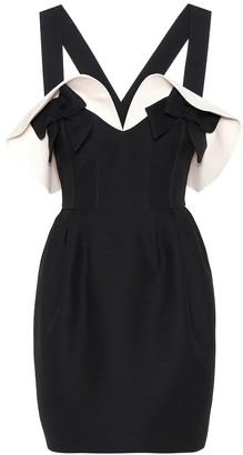 Valentino Wool and silk crepe dress
