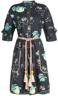Peter Pilotto Printed Cotton Shirt Dress