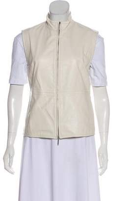 Max Mara Leather Vest