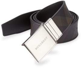 Burberry Reversible Signature Plaid Belt